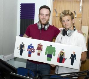 Matt and John
