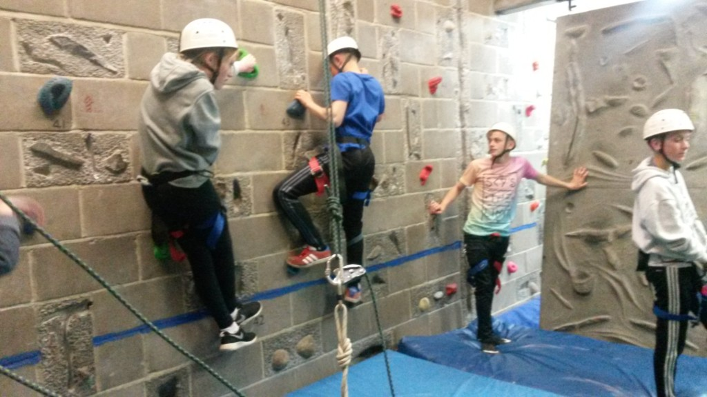 Overcoming fear and experiencing masses of fun was the order of the week for students participating in 'PE Experiences'. Describe by students as a 'extraordinary trip' that 'improved communication and made everyone work as a team'