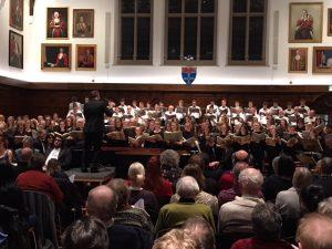 Robin Forbes conducting Carmina Burana