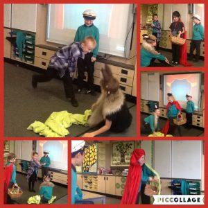 Acting Out Little Red Riding Hood Christopher Pickering Primary