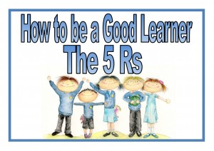 How to Be a Good Learner booklet