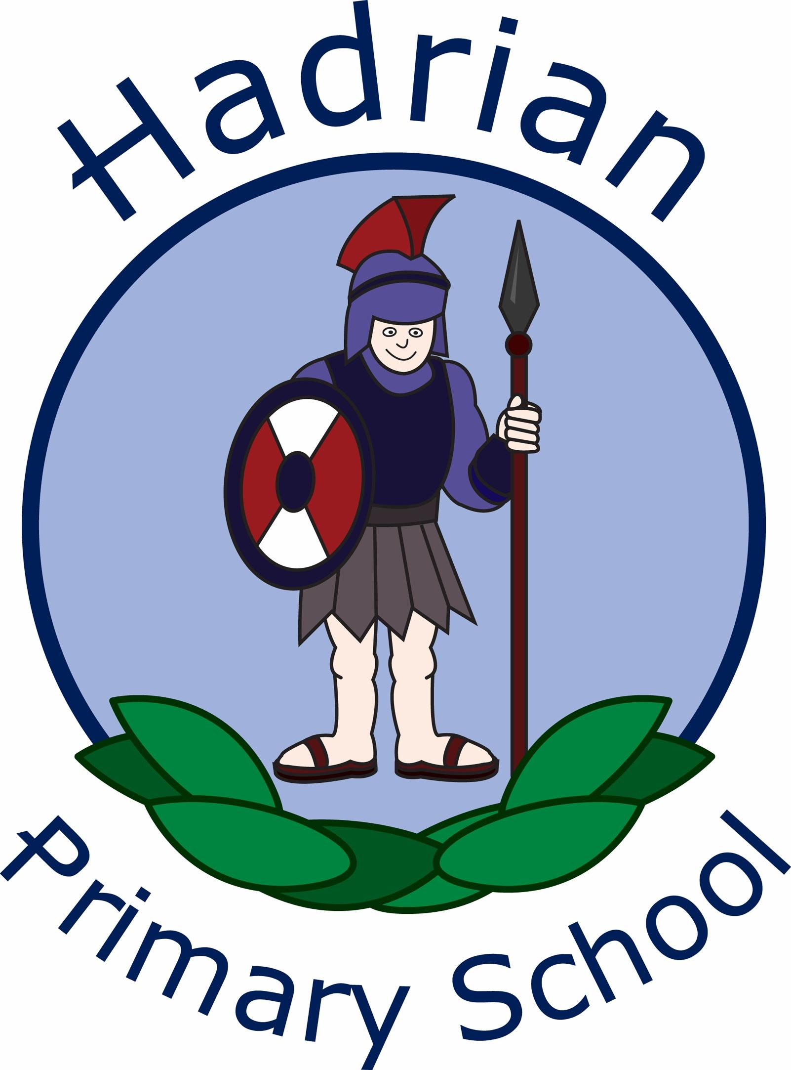 Hadrian Primary School Logo