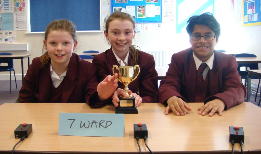 2015 Brainbuster Cup Winners - 7 Ward