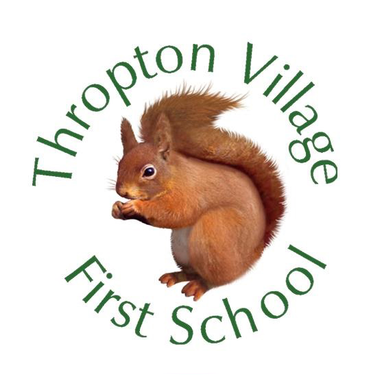 Thropton Village First School Logo