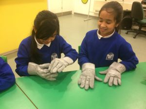 Space gloves- how does an astronaut fix things???