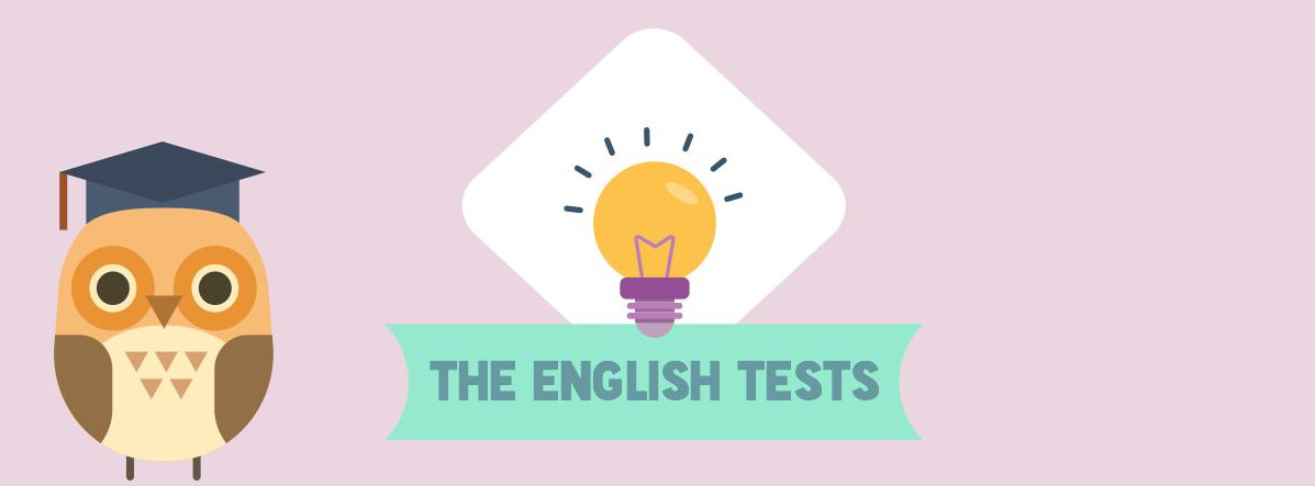 English tests header