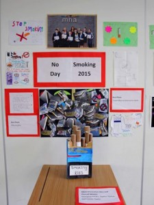 no smoking day display