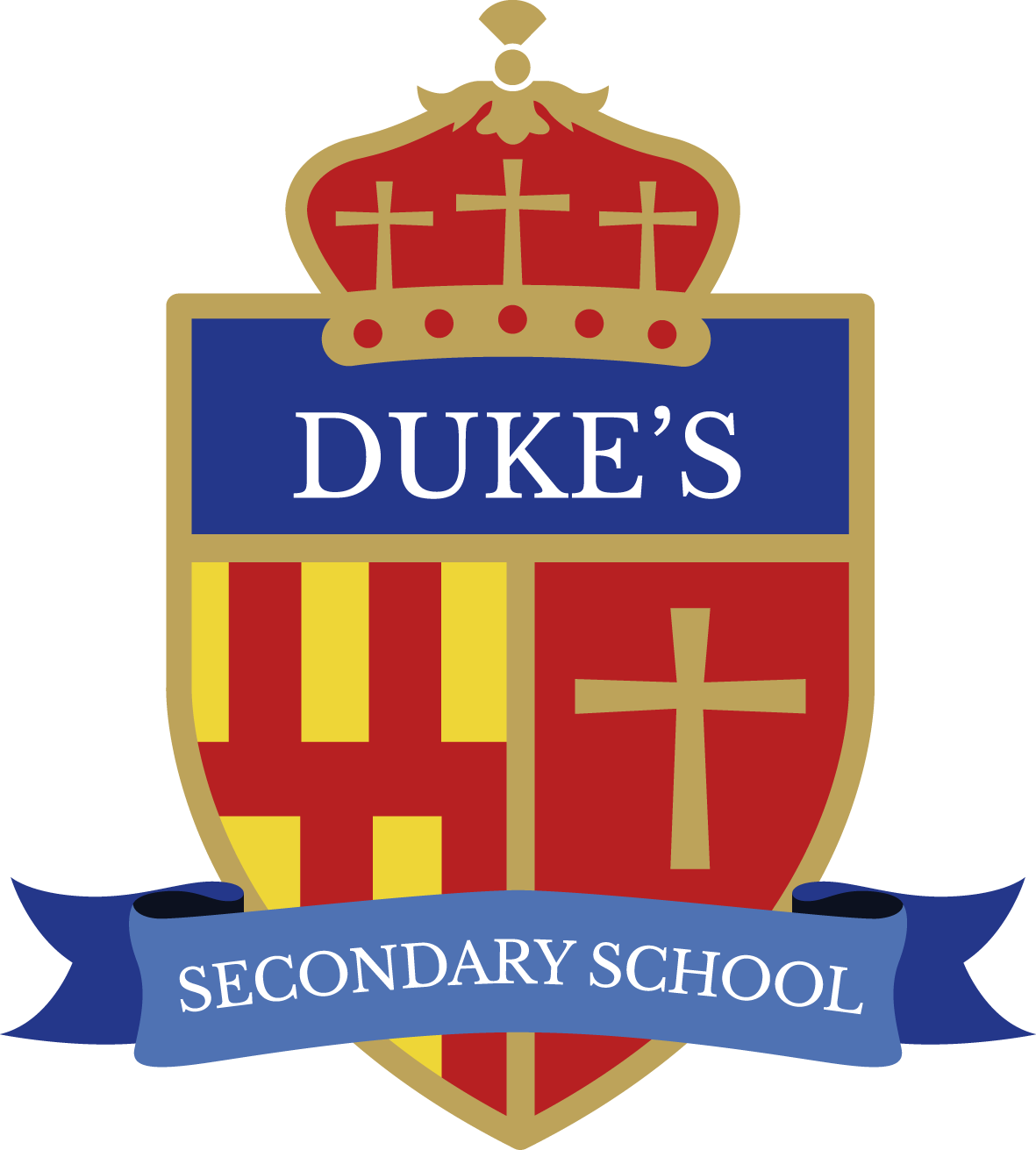 Duke's Secondary School Logo