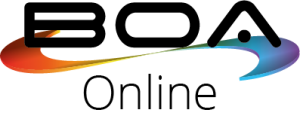 BOA Online logo - White Background
