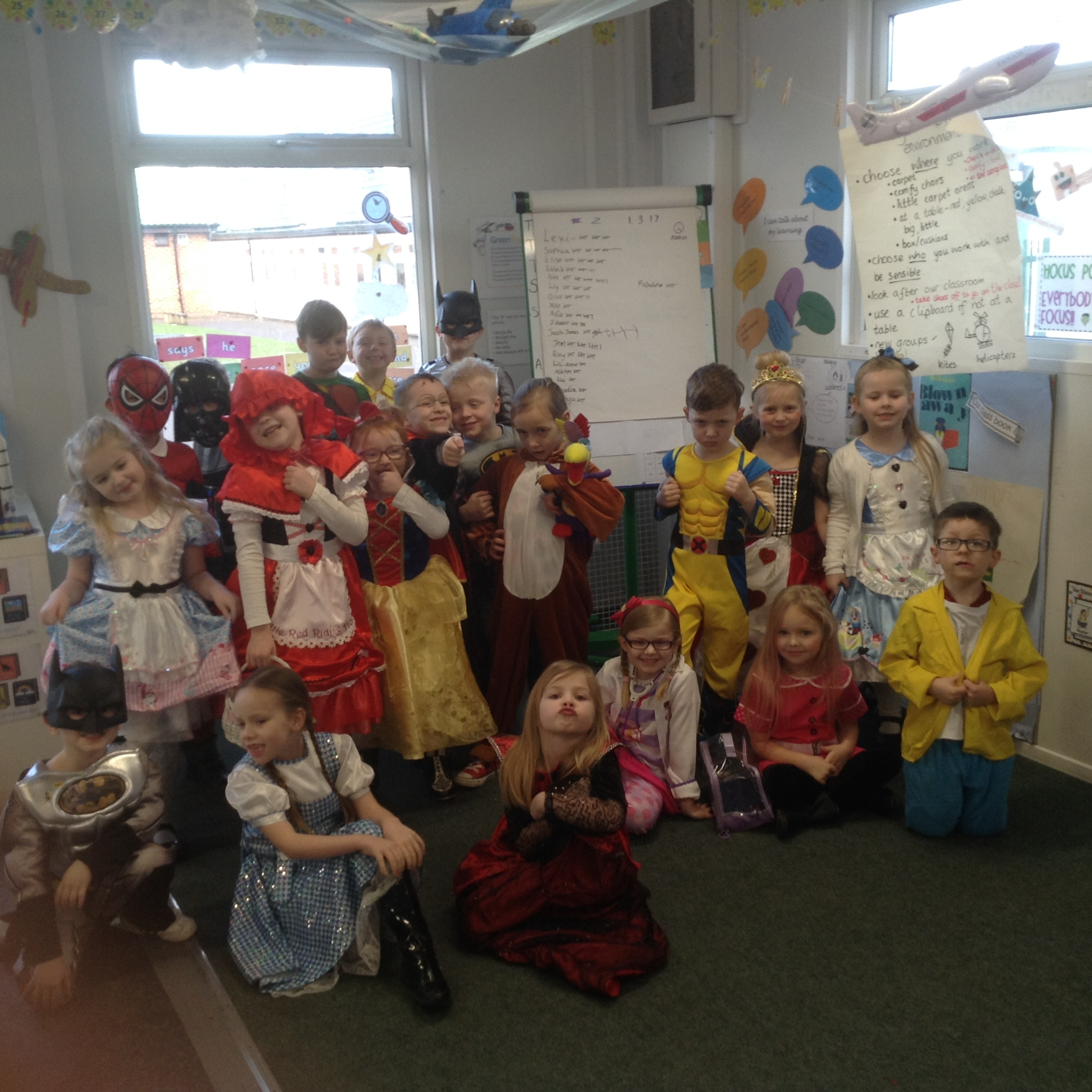 world book day 2 class 4