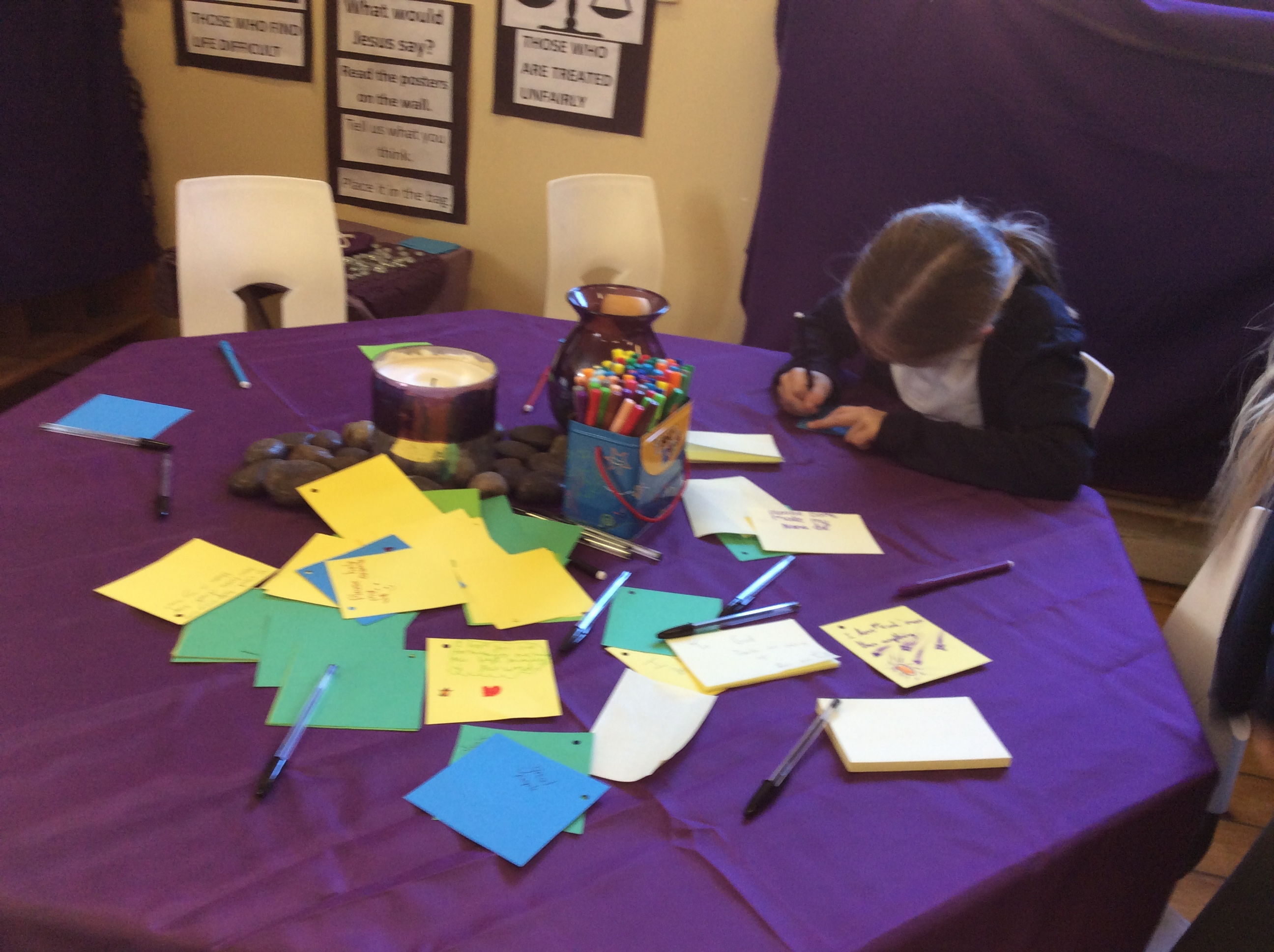 Year 3 prayer stations   ST  GREGORY'S