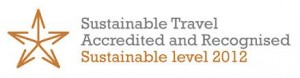 sustainable travel accreditation logo