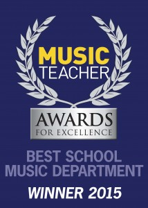 Woodcroft WINNER2015-Best School Music Dept