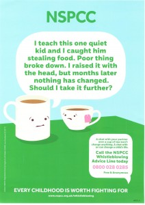 NSPCC Whistleblowing Advice