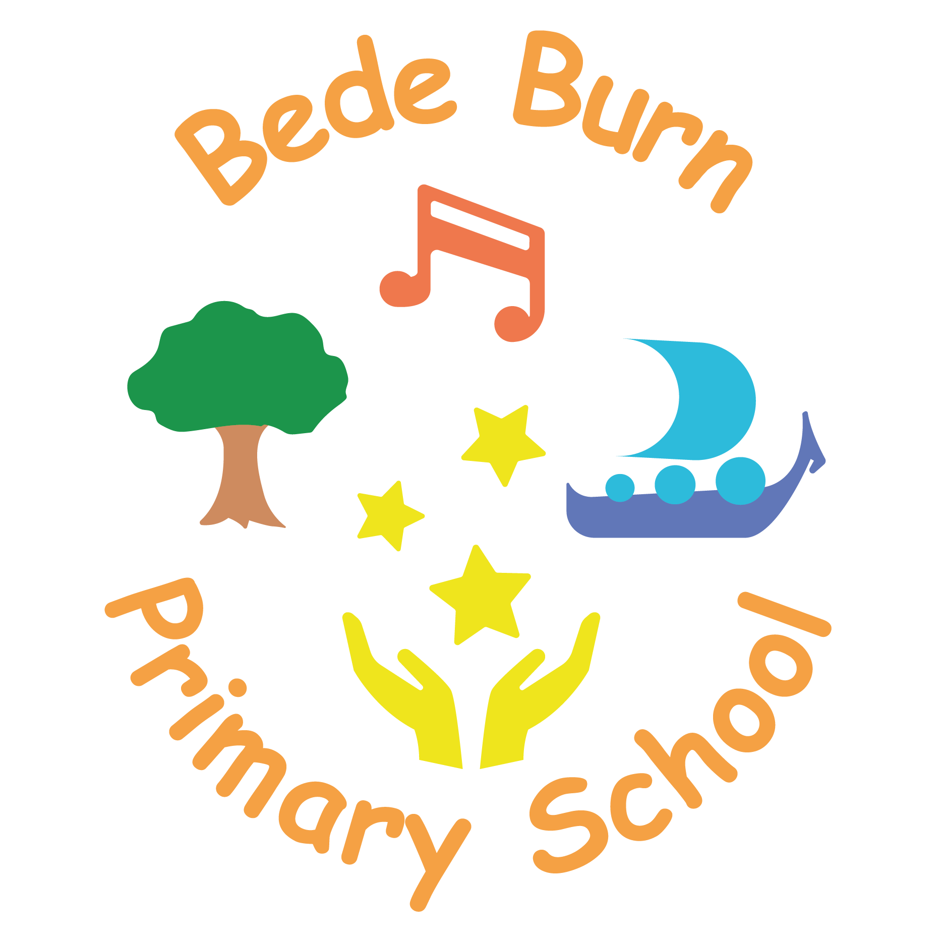 Bede Burn Primary School Logo
