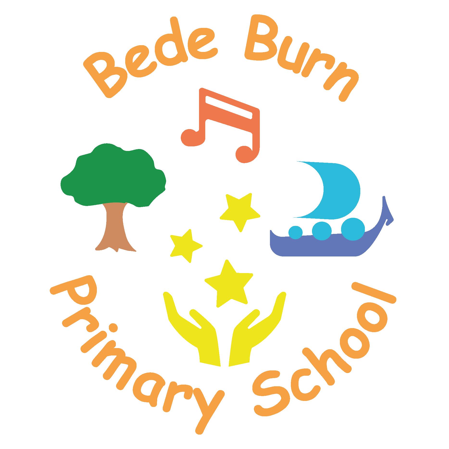 Bede Burn Primary School Logo