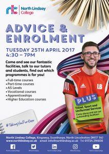 Advice & Enrolment 25 April 2017 Poster (1)