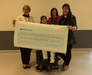 Tor Coatings present cheque to the Foundation | Percy Hedley