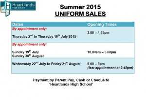 Uniform Sales 2015 SIGN