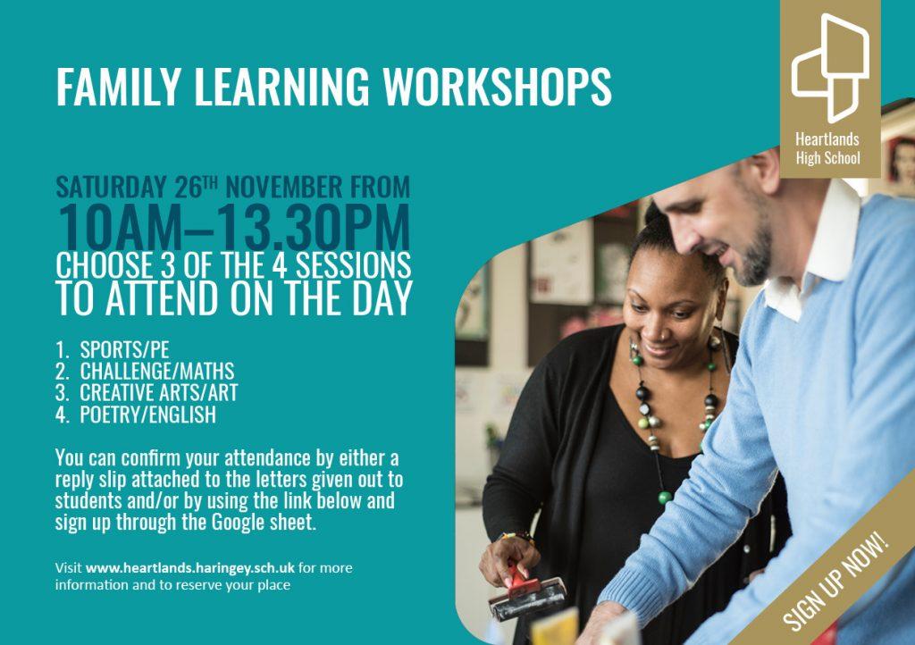 HHS Family Learning Workshops_Nov16