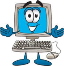 computer cartoon
