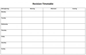 Surprising Revision Timetable Templates Brookvale Groby Learning Campus Complete Home Design Collection Epsylindsey Bellcom