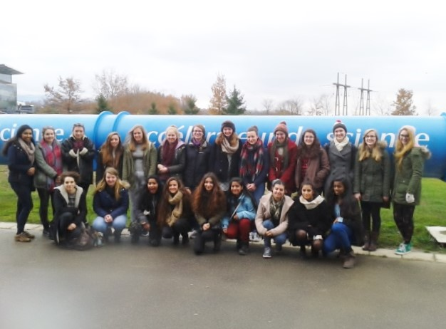 Year 13 visit to the Large Hadron Collider in Geneva December 2014
