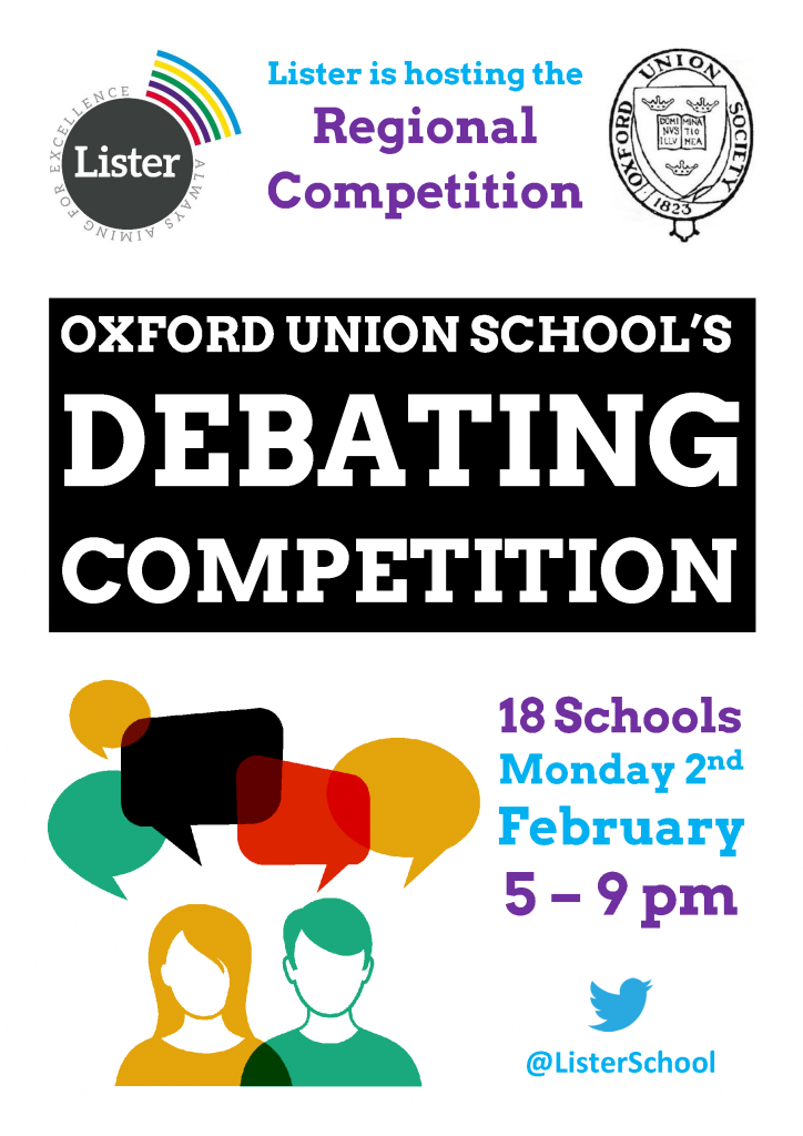 Debate Competition Poster