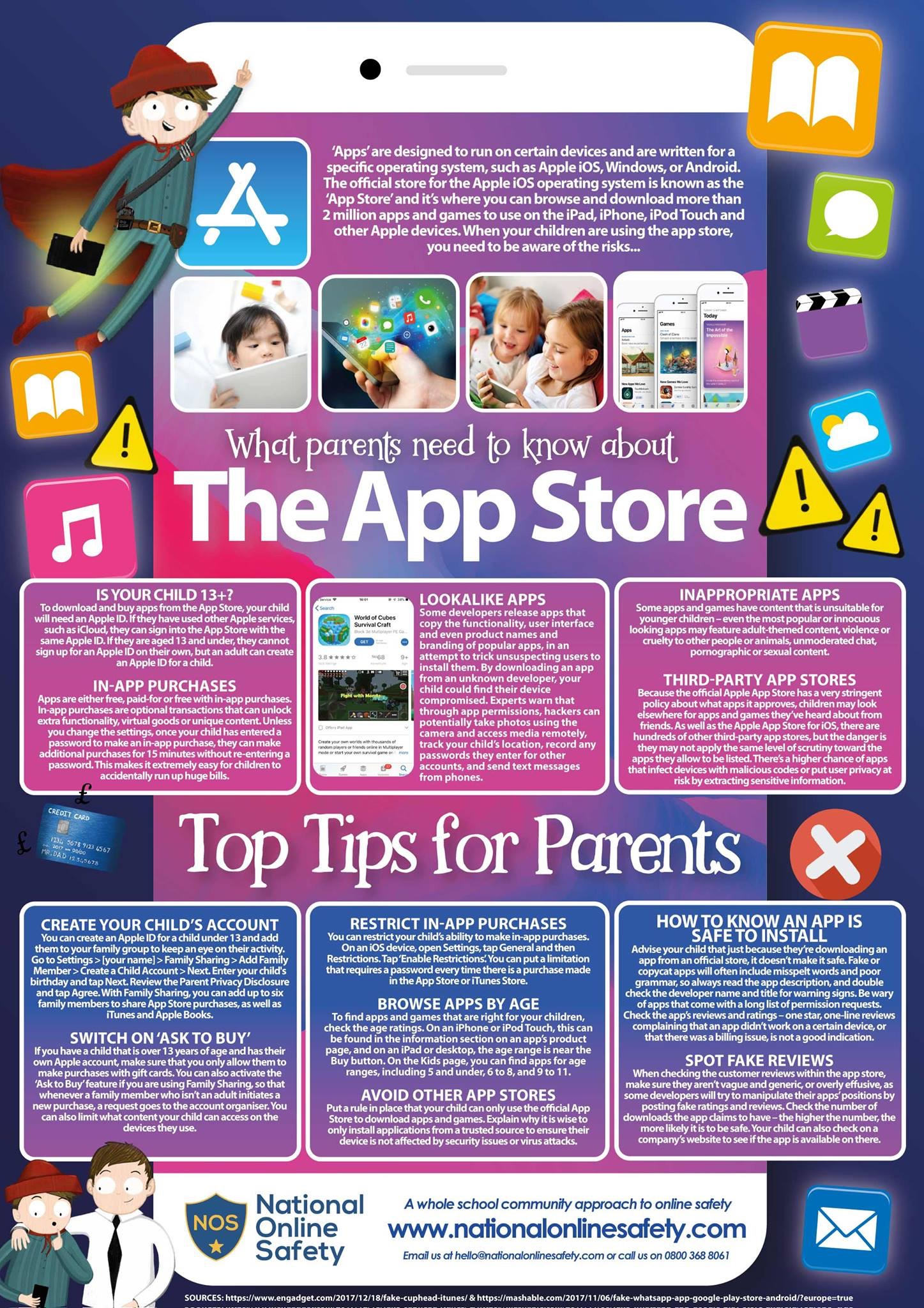 Practical Safeguarding Advice For Parents and Carers