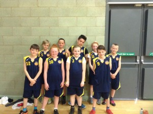The Year 6 Team (photo taken after tournament, so they look tired)