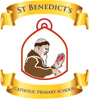 St. Benedict's Catholic Primary School Logo