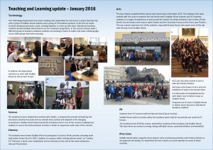 Teaching and Learning Update - Joint Stubbin Wood Links