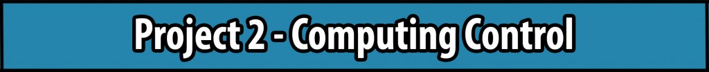 Project 2 - Computing Control