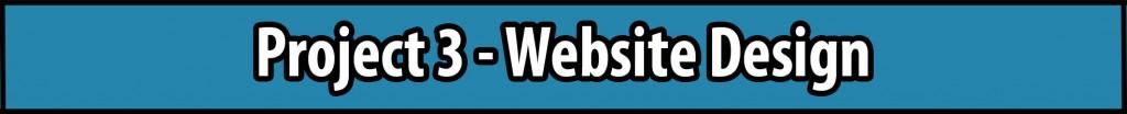 Project 3 - Website Design