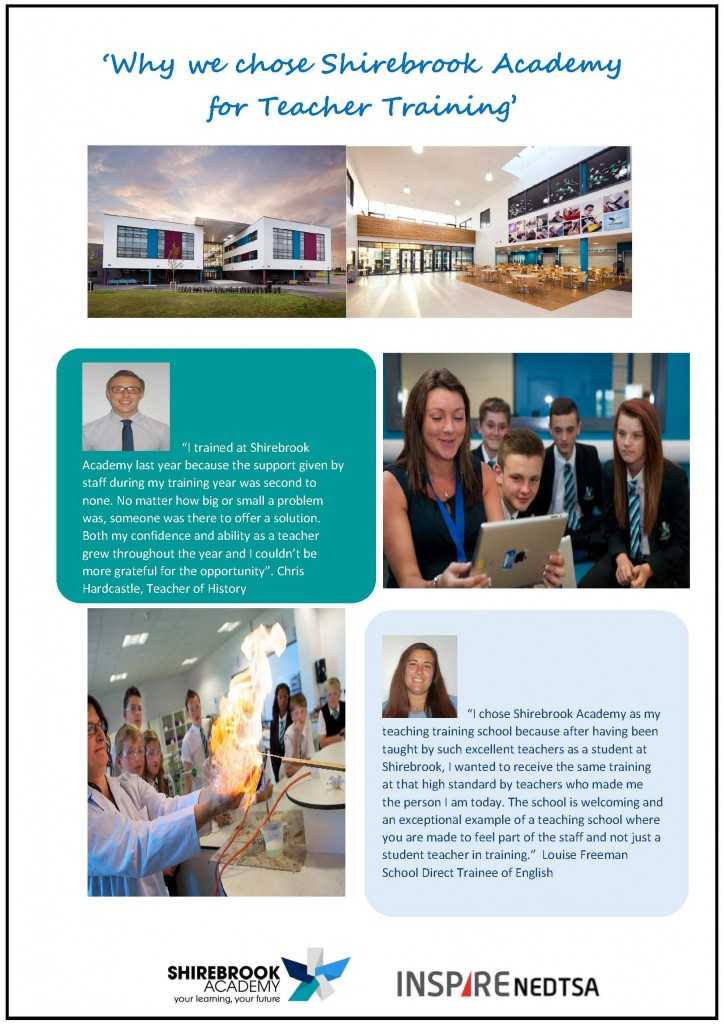'Why we chose Shirebrook Academy for Teacher Training'_Page_1