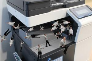 Slinkachu - Mr Hand - Printer