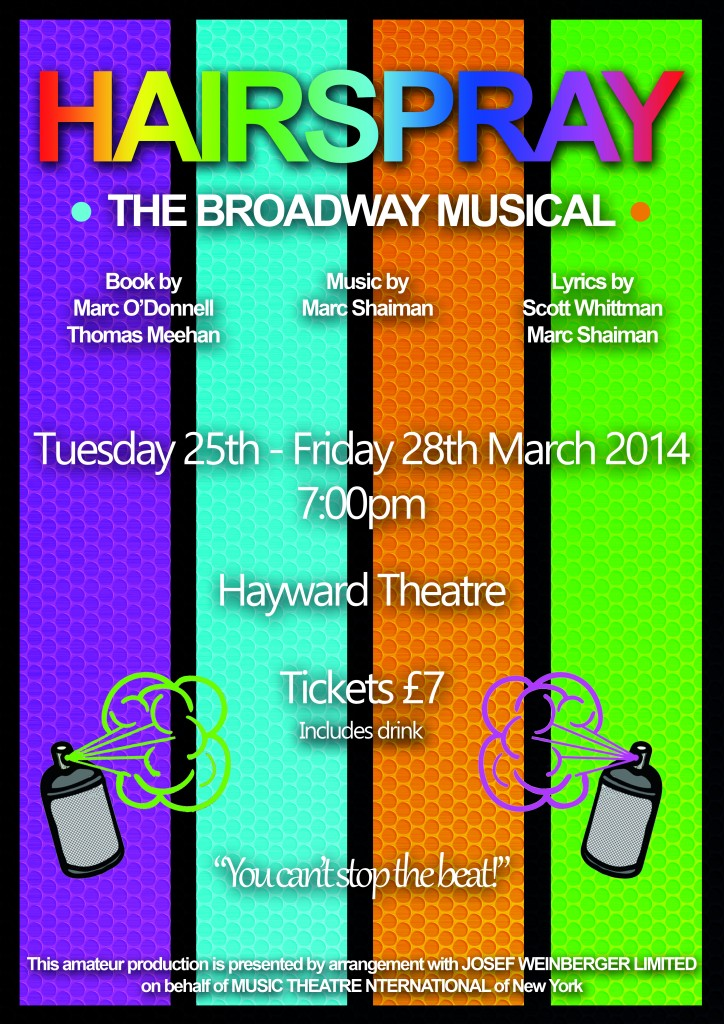 Hairspray Poster NEW time