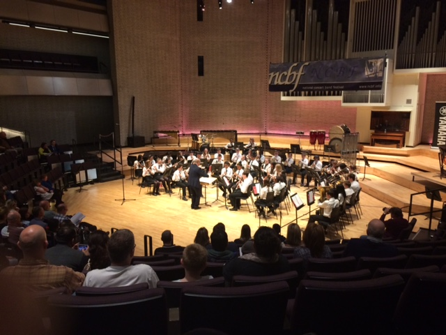 Training Band at RNCM