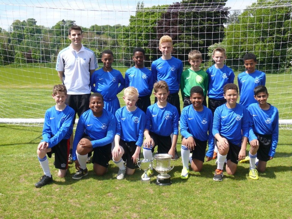 Y7 boys football team 2014 -15